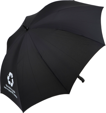 Eco-friendly umbrellas